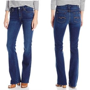 NWT 7 for All Mankind   Kimmie Boot Cut Jean 27